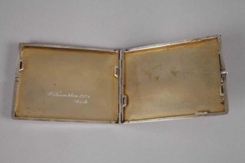 Cigarette Case Silver - photo 2