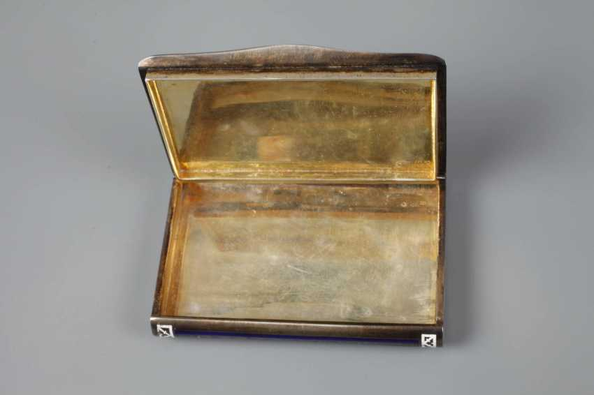 Cigarette case silver and enamel - photo 6