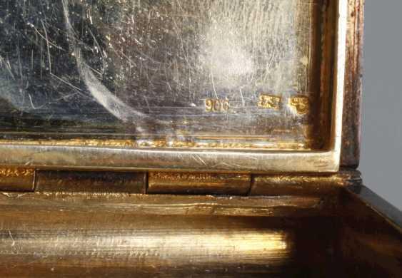 Cigarette case silver and enamel - photo 7