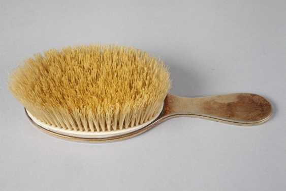 Silver hair brush, from nobility possession - photo 3