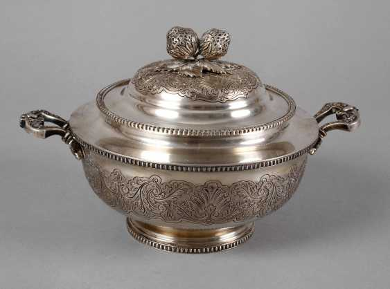 Silver Lid Tureen Portugal - photo 1