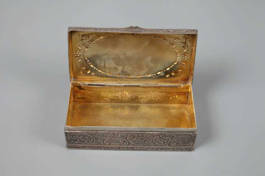 Silver Anatomical Snuffbox Historicism - photo 4