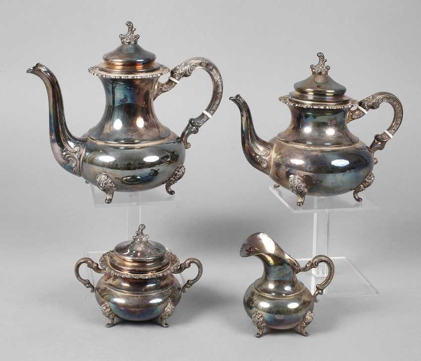 Silver Coffee/Tea Set - photo 1