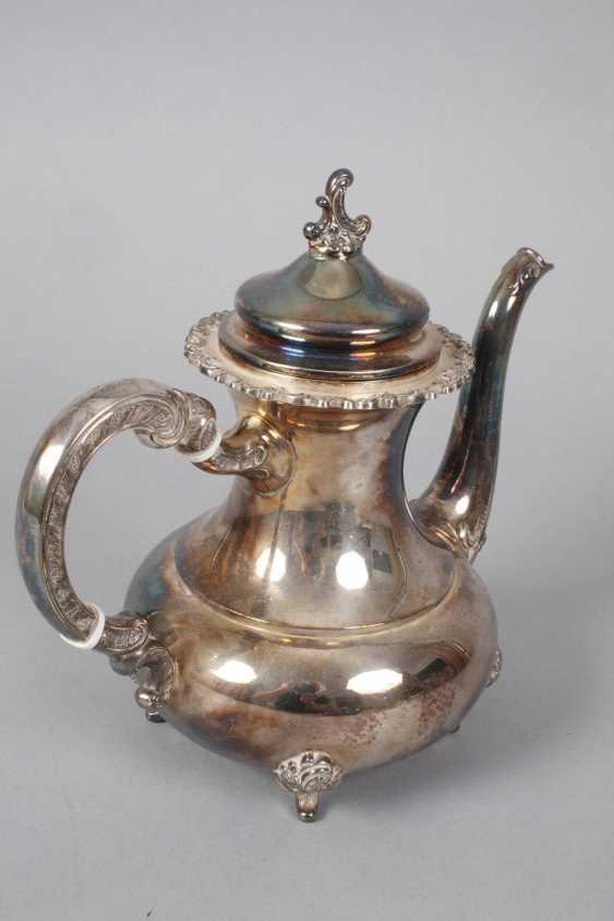Silver Coffee/Tea Set - photo 3