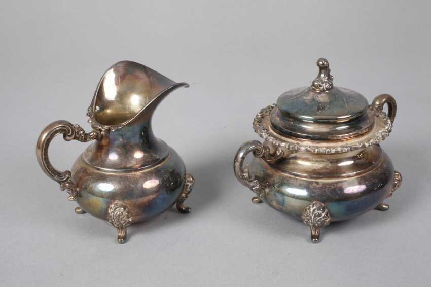 Silver Coffee/Tea Set - photo 5