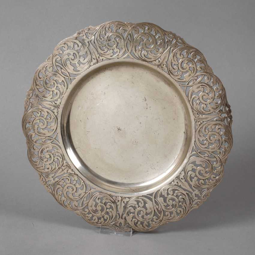 Silver Plate Saw Work - photo 1