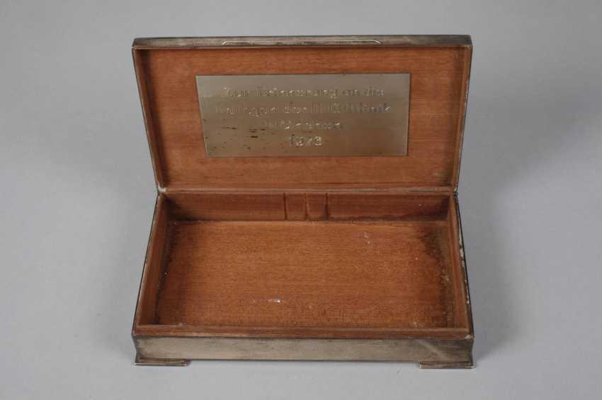 Cigar Humidor Silver - photo 3