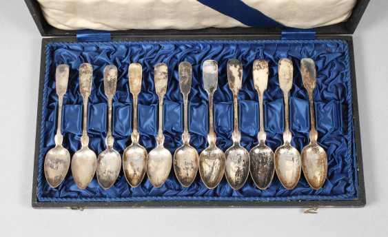 Eleven Coffee Spoons Spade Decor - photo 1