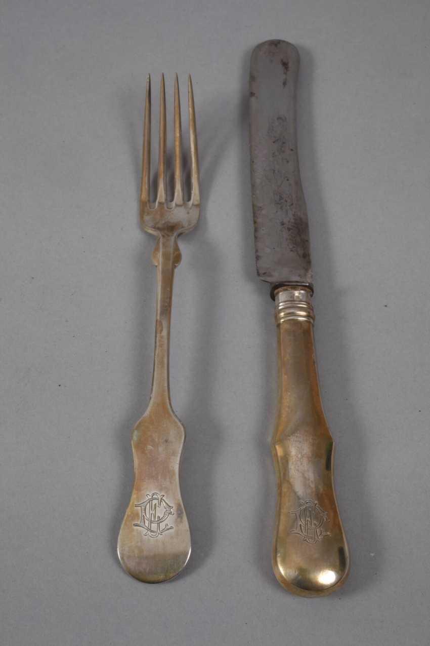 Silver Cutlery Of Vienna - photo 3