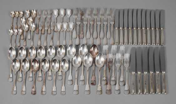 """Silver Cutlery """"Augsburger Faden"""" - photo 1"""