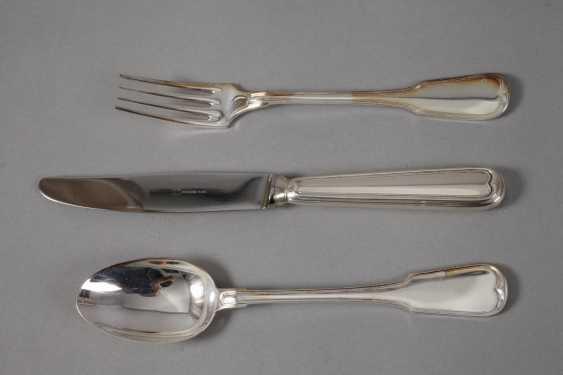 """Silver Cutlery """"Augsburger Faden"""" - photo 2"""