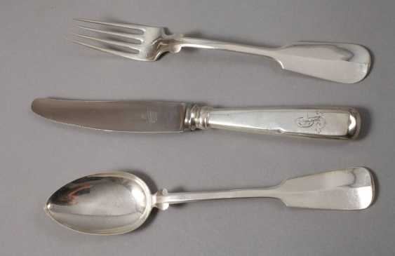 Silver Cutlery for six people - photo 2