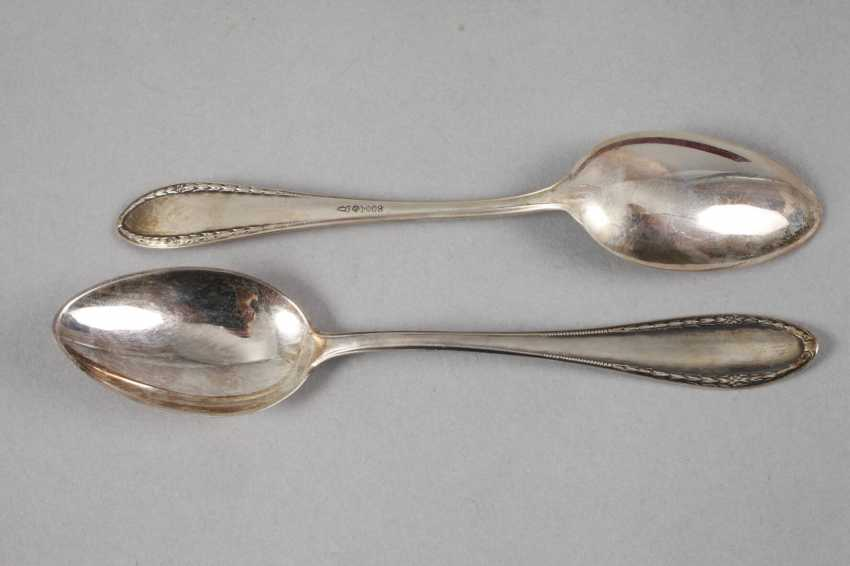 Twelve Coffee Spoons Silver - photo 2