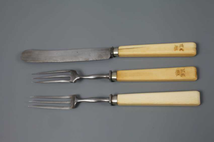 Dinner Cutlery set, from nobility possession - photo 2