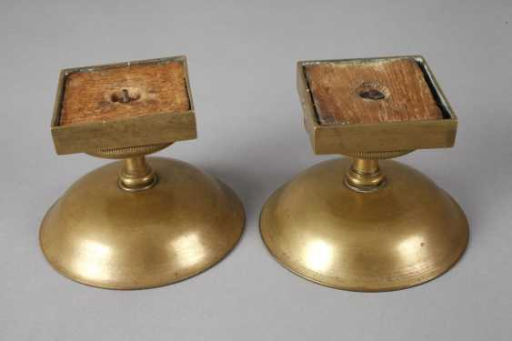 Two Footrests Brass - photo 3