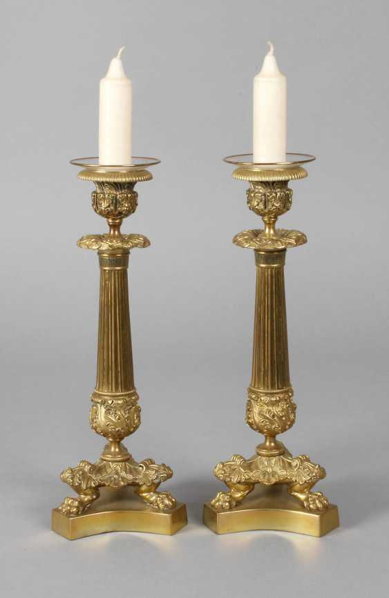 Paire de Chandeliers de style néoclassique - photo 1