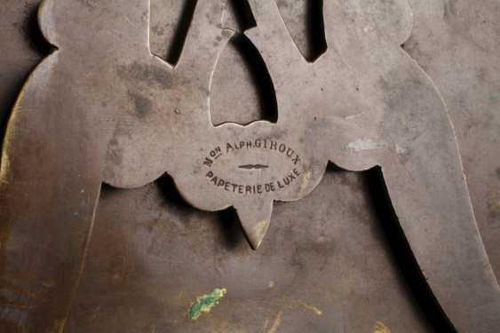 Bronzerahmen Maison Alphonse Giroux - photo 3