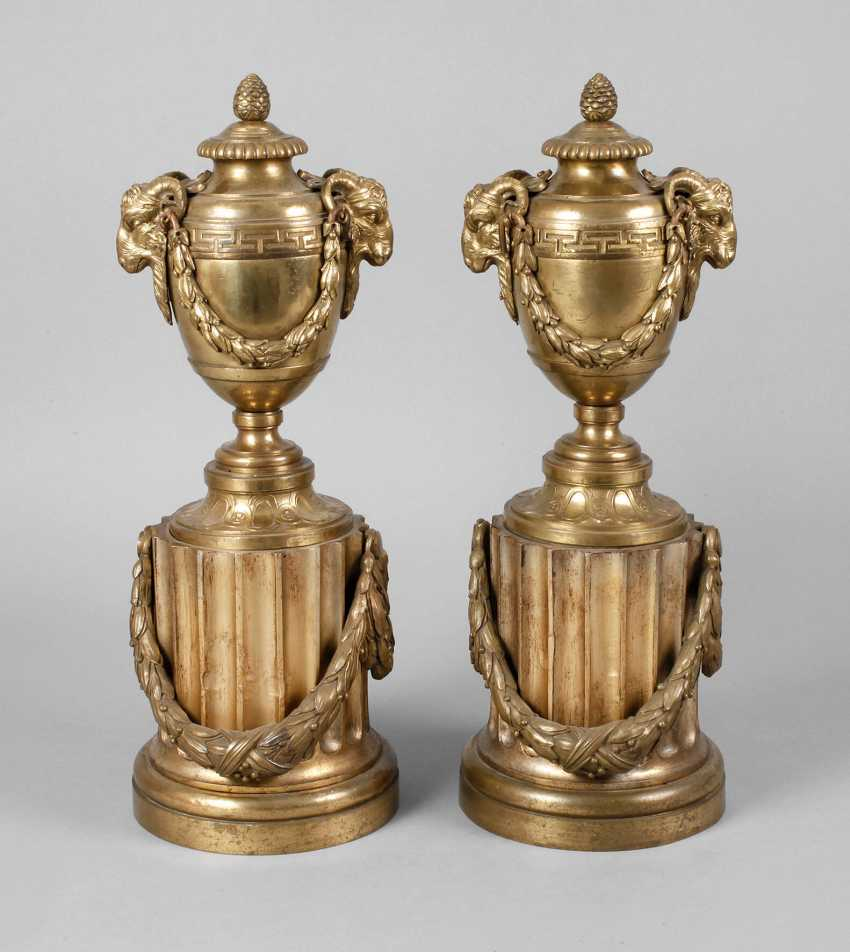 Pair of neo-classical fireplace sender - photo 1
