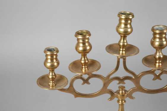 Five-Light Brass Chandelier - photo 2