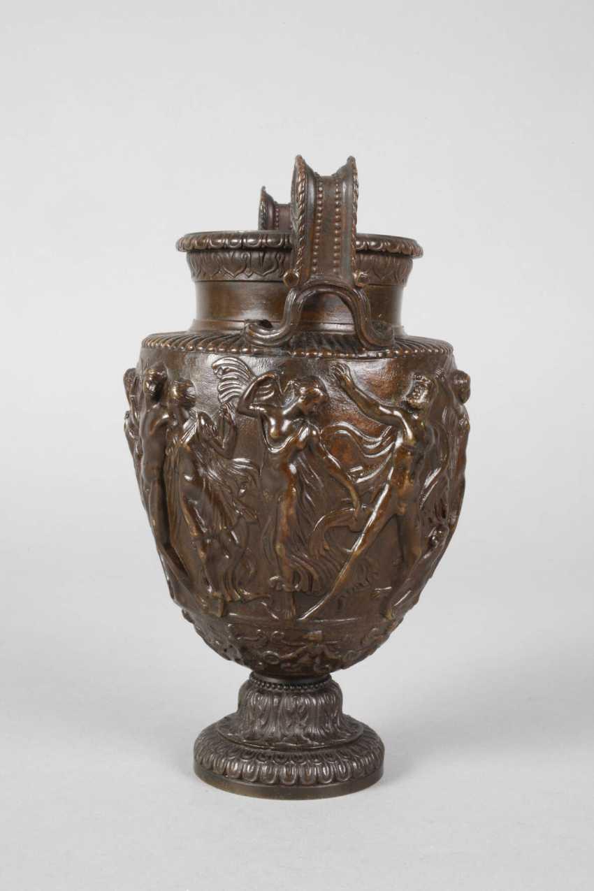 Amphorenvase Bronze - photo 2