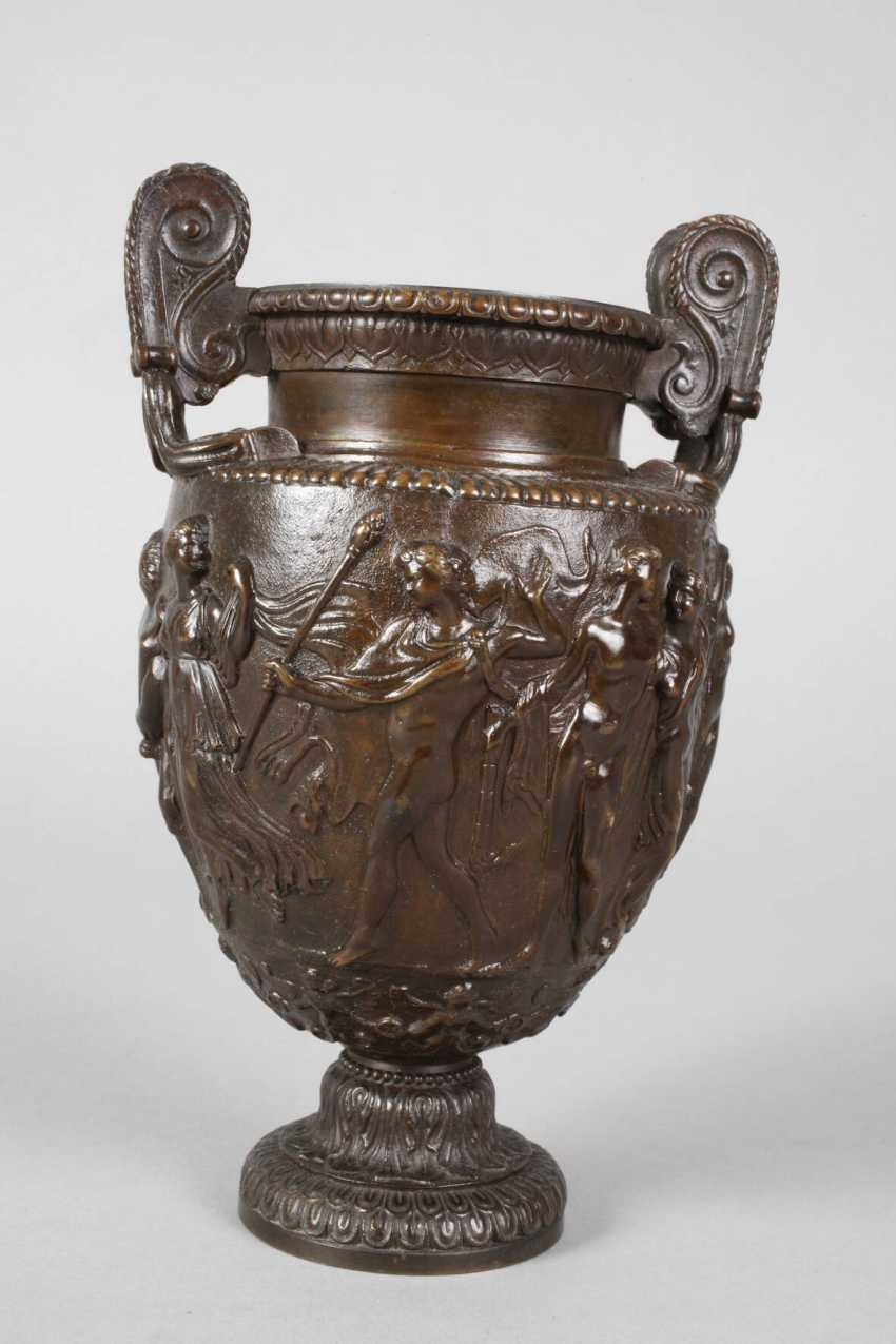 Amphorenvase Bronze - photo 3