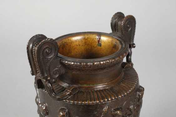 Amphorenvase Bronze - photo 4