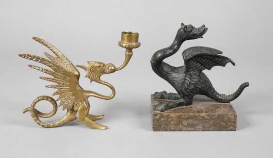 Two Bronze Dragons - photo 1