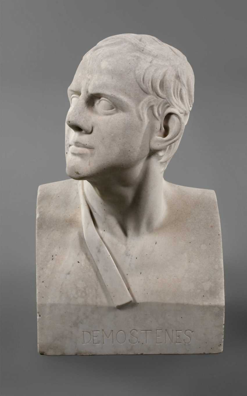 Bust of Demosthenes - photo 1