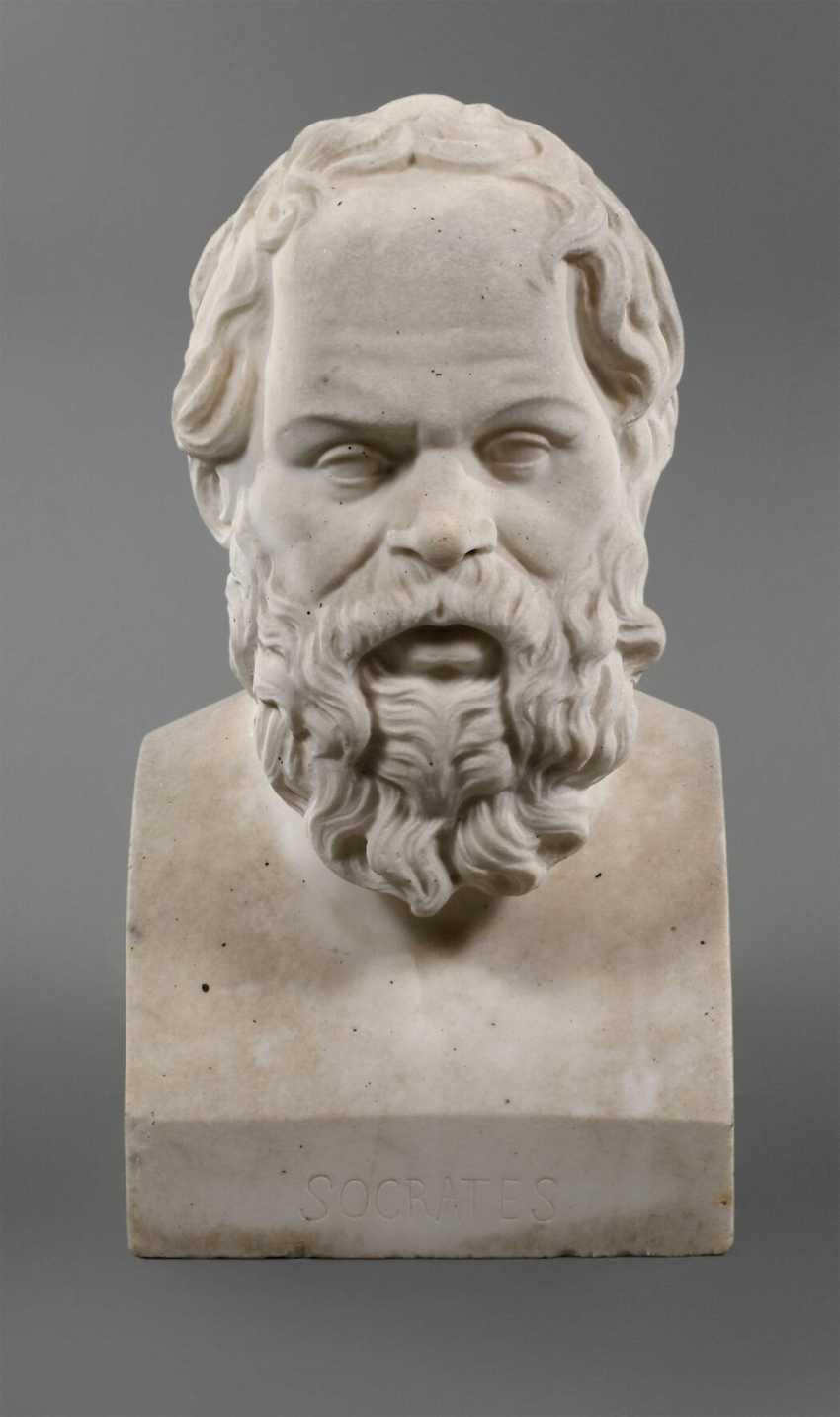 Bust of Socrates - photo 1