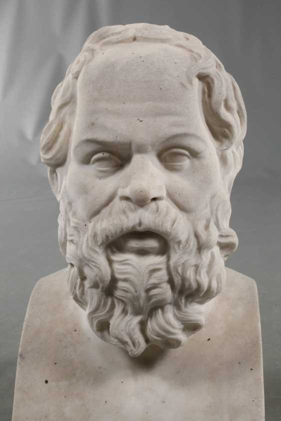 Bust of Socrates - photo 2