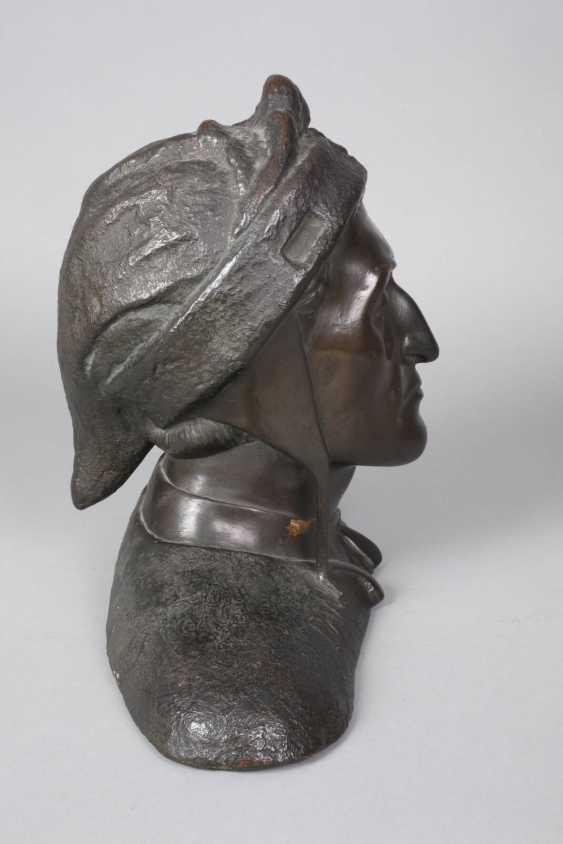 after Sabatino de Angelis, bust of Dante Alighieri - photo 2