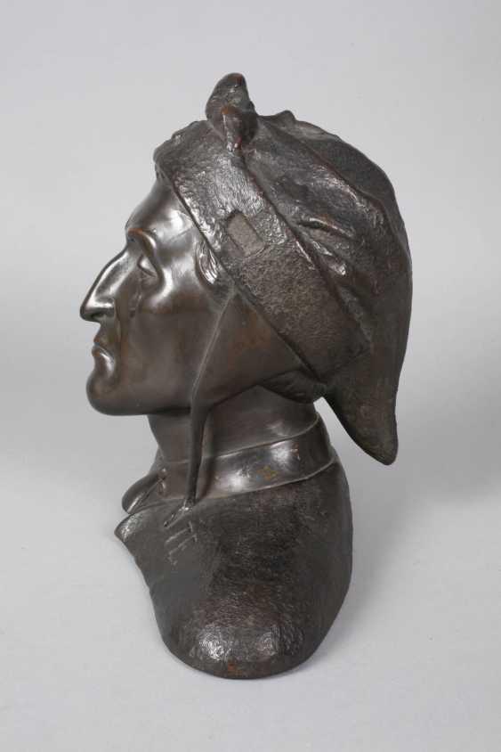 after Sabatino de Angelis, bust of Dante Alighieri - photo 4
