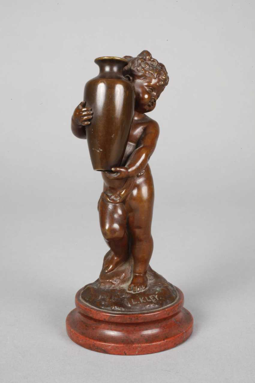 Louis Kley, Putto mit Vase - photo 5