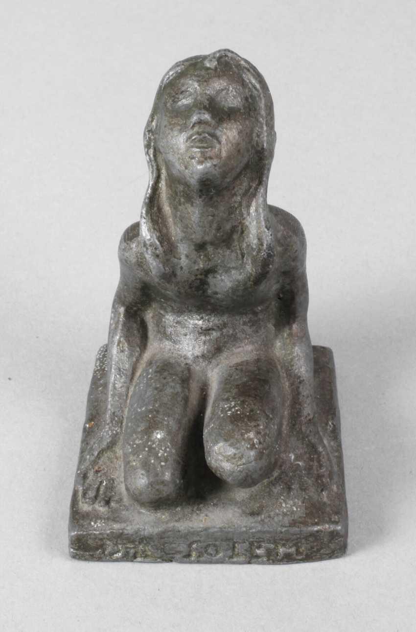 "Kneeling Sun Worshipper ""Since Solem – Heimdall Thanks"" - photo 1"