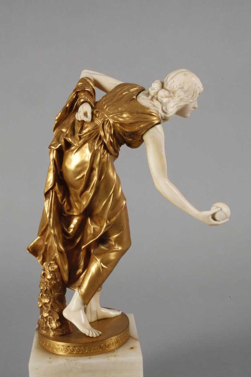 Walter Schott, Chryselephantin Ball Player - photo 5
