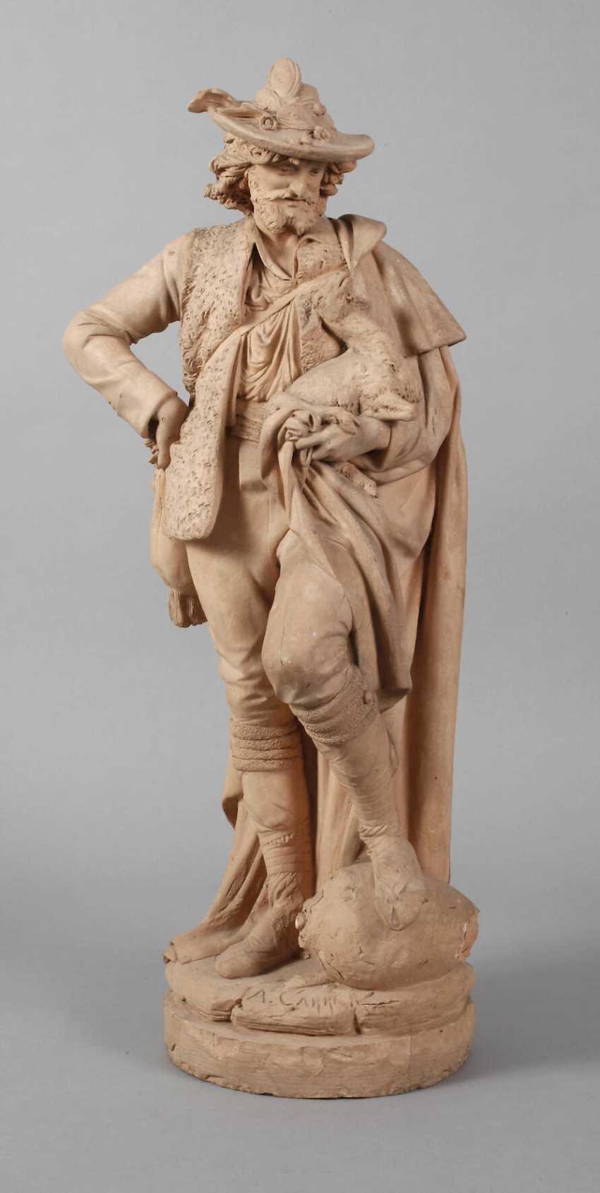 Albert-Ernest Carrier-Belleuse, large salon figure - photo 1