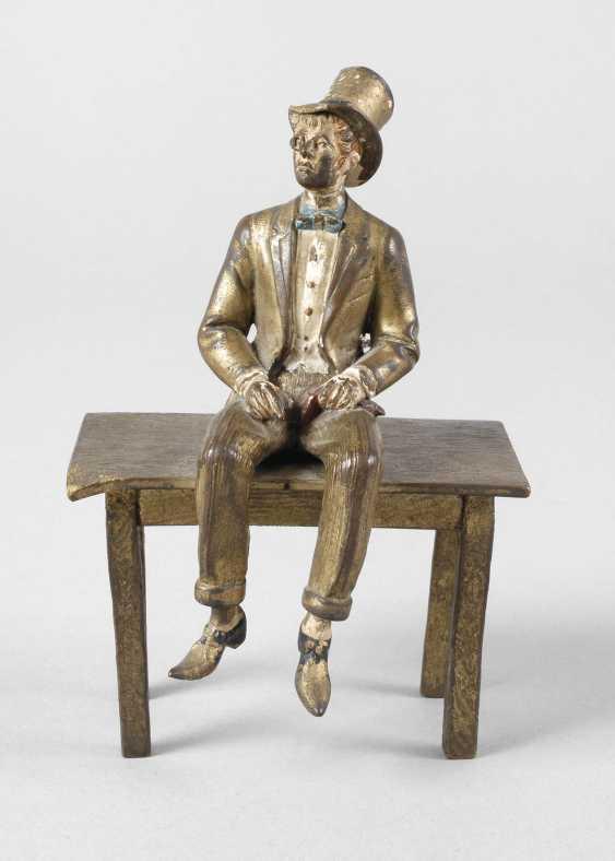 Vienna Bronze sitting Lord - photo 1