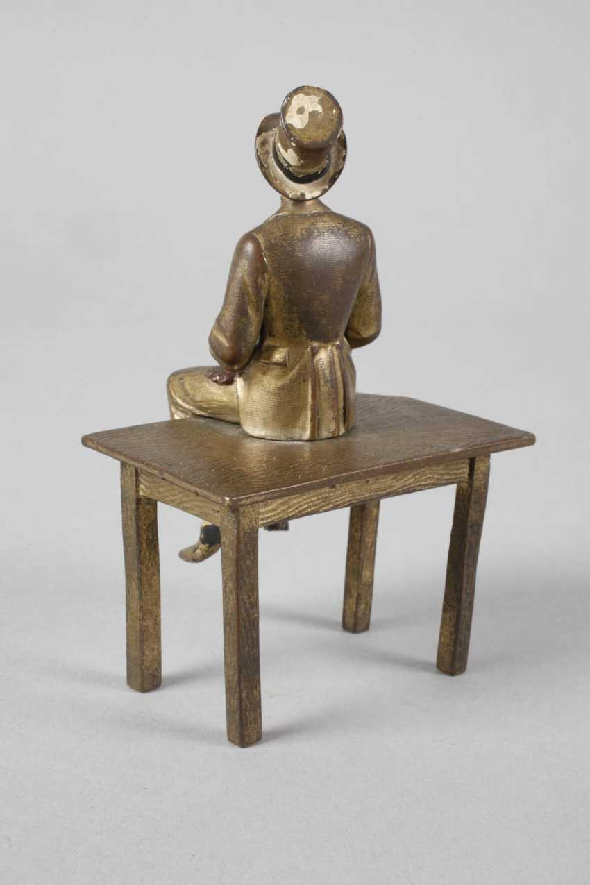 Vienna Bronze sitting Lord - photo 3
