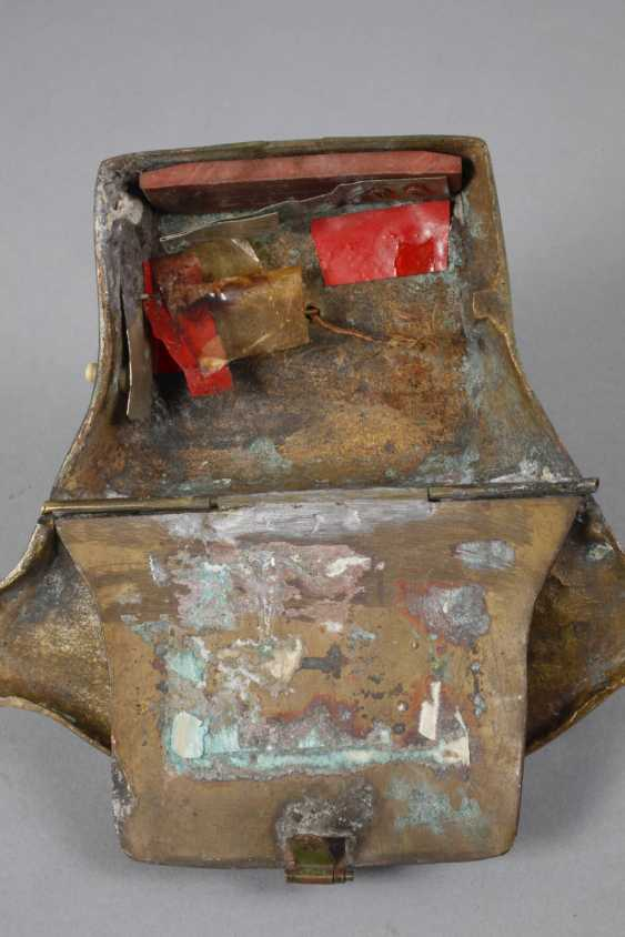 Vienna Bronze table bell with night watchman - photo 5