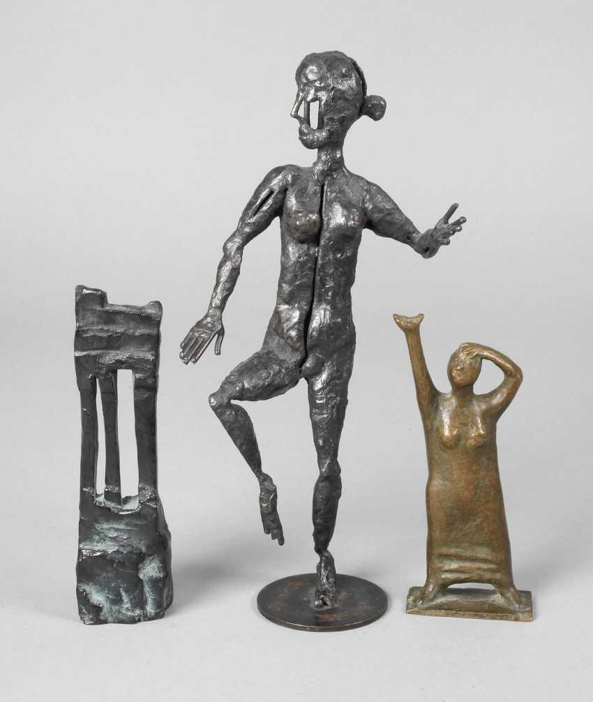 Collection of modern bronzes - photo 1