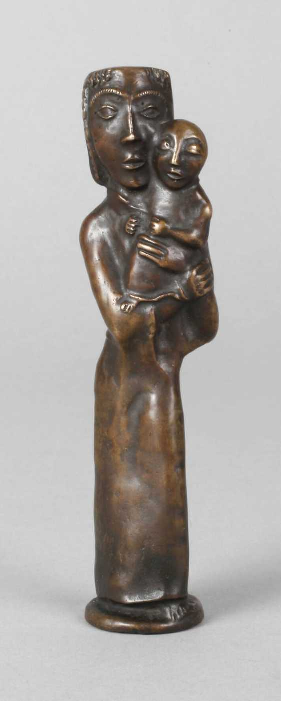 Otto Coester, Holy Mary with the child Jesus - photo 1