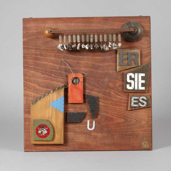 """Heiner Ullrich, Wall, Relief, """"She, It"""" - photo 1"""