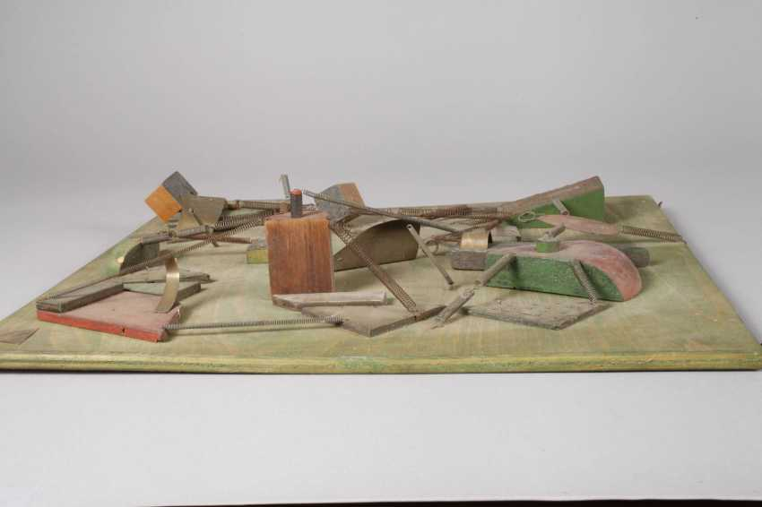Heiner Ulrich, abstract wall relief - photo 3