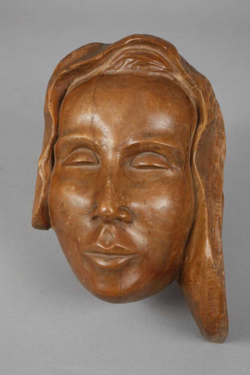 G. Schrey, two women's heads as a relief - photo 2