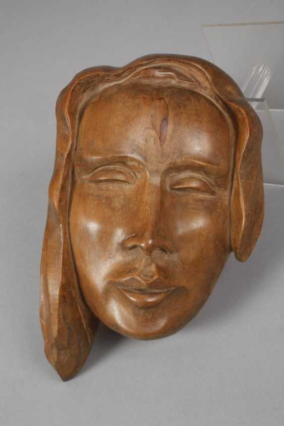 G. Schrey, two women's heads as a relief - photo 4