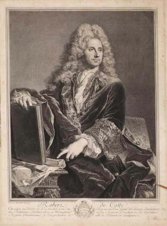 Pierre Drevet, Bildnis Robert de Cotte - photo 1