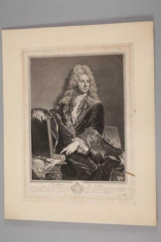 Pierre Drevet, Bildnis Robert de Cotte - photo 2