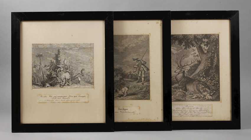 Johann Elias Ridinger, hunting and animal representations - photo 1