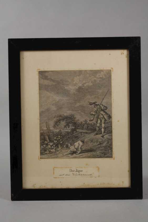 Johann Elias Ridinger, hunting and animal representations - photo 3