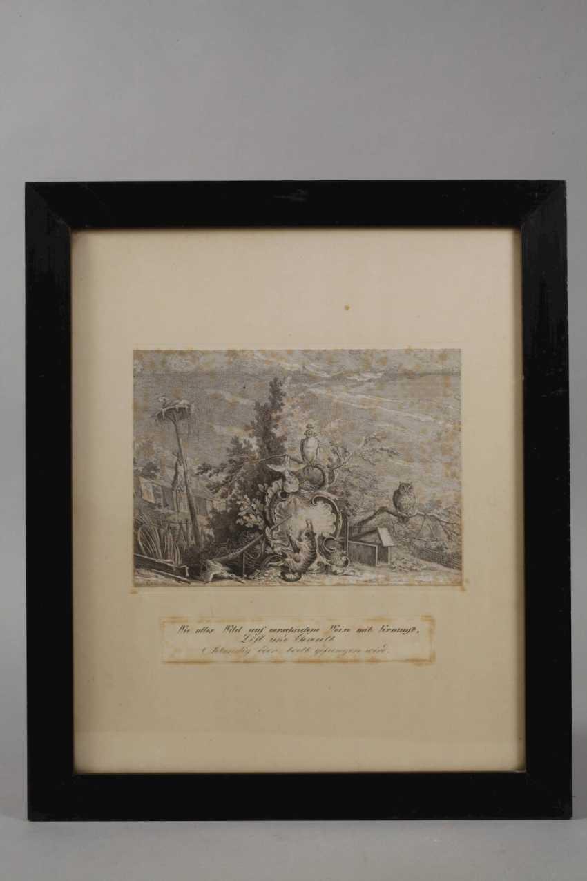 Johann Elias Ridinger, hunting and animal representations - photo 4